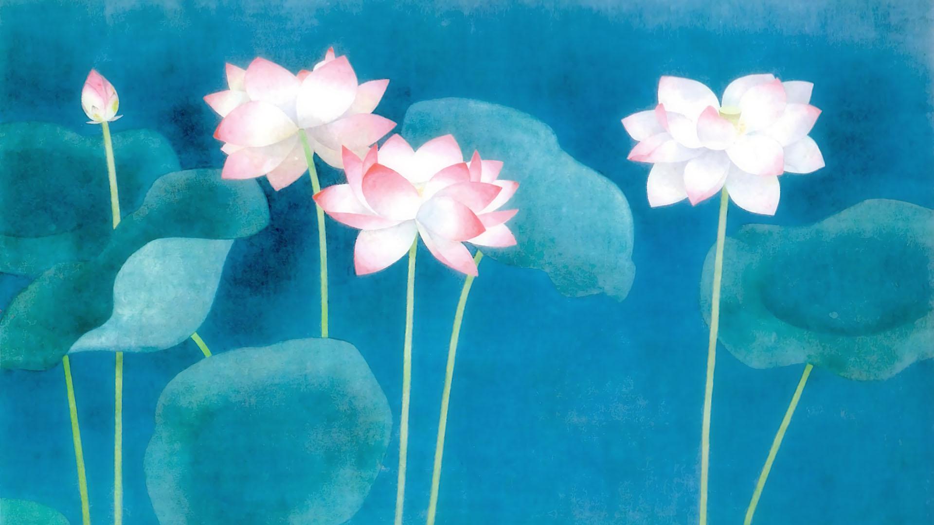 Uemura Shoko - Hasu 1920x1080
