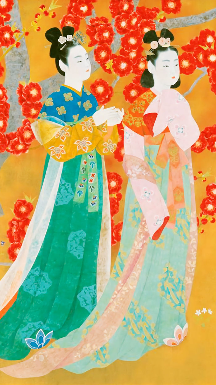 Uemura Shoko - Manyou no haru 1080x1920