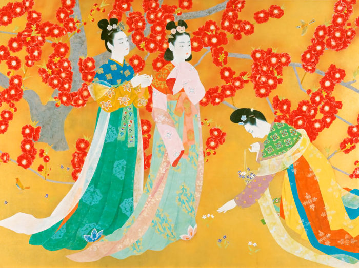 Uemura Shoko - Manyou no haru 2732x2048