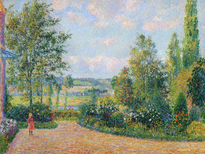 Camille Pissarro Le Jardin d'Octave Mirbeau 2732x2048