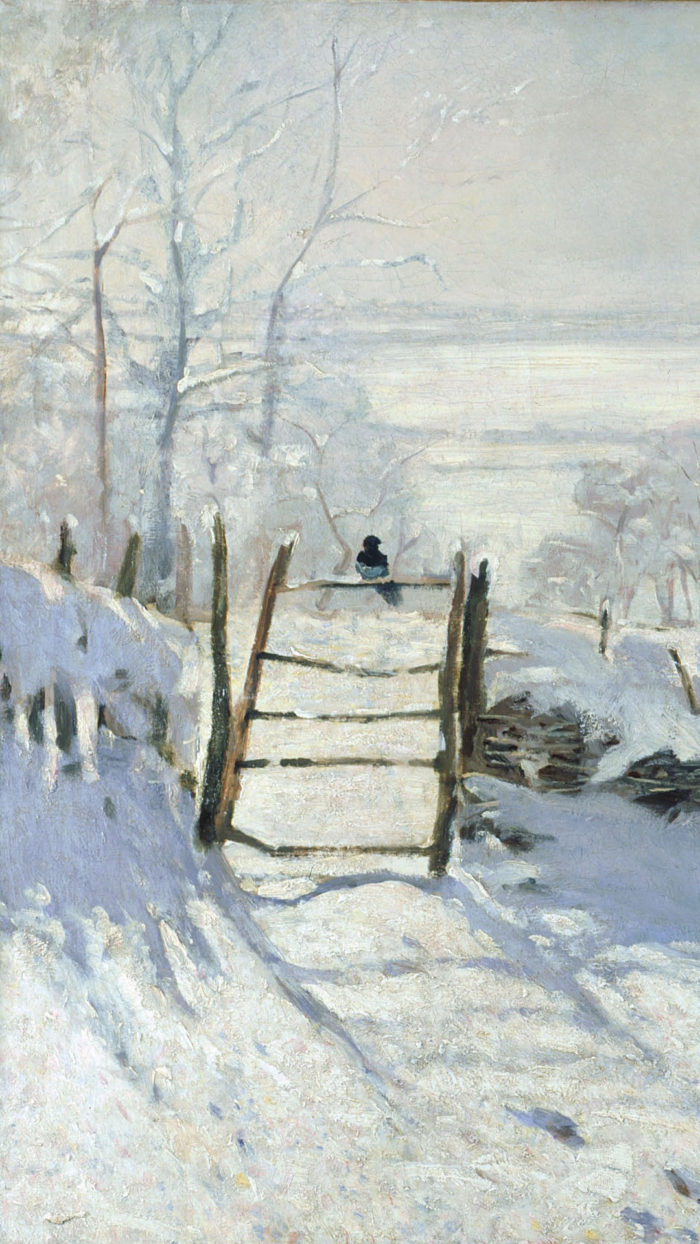 Claude Monet - The Magpie 1080x1920