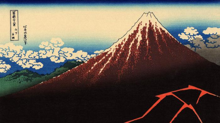 Katsushika Hokusai - Sanka hakuu 1920x1080