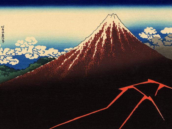 Katsushika Hokusai - Sanka hakuu 2732x2048