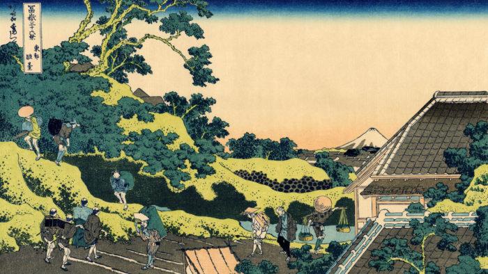 Katsushika Hokusai toto surugadai 2560x1440