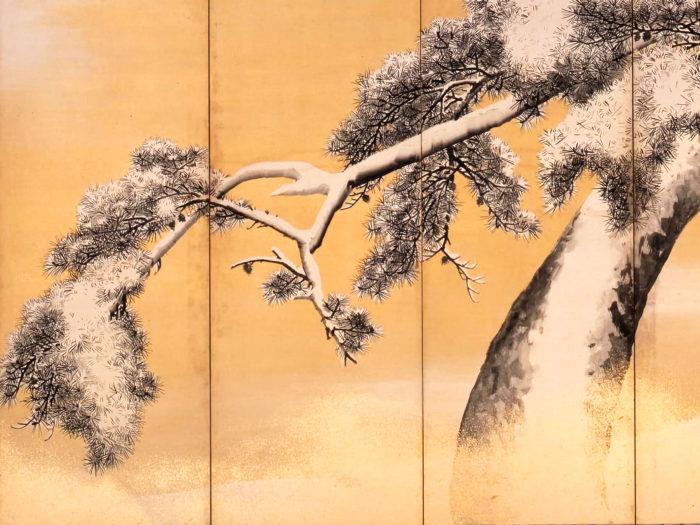 Maruyama Okyo - Yukimatsu zu byobu 2732x2048