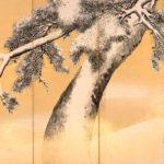 円山応挙 雪松図屏風 右隻