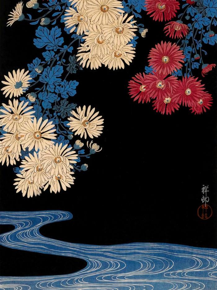 Ohara Koson - Kikka ni ryusui 2048x2732