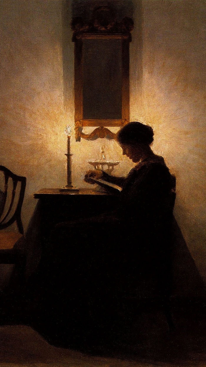 Peter Ilsted - Woman Reading 1080x1920