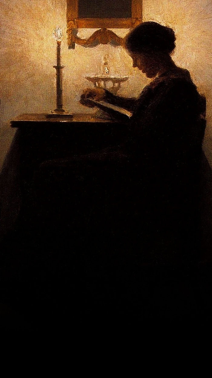 Peter Ilsted - Woman Reading 1080x1920 2