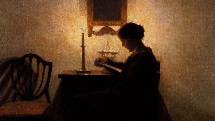 Peter Ilsted - Woman Reading 1920x1080