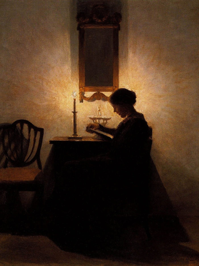 Peter Ilsted - Woman Reading 2048x2732