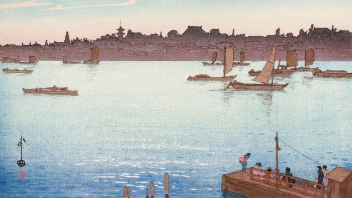 Yoshida Hiroshi - Sumidagawa 1920x1080