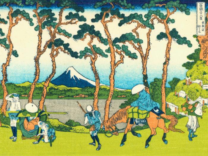 Katsushika Hokusai - tokaido hodogaya 2732x2048
