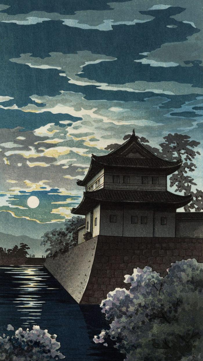 Tsuchiya Koitsu - Kyoto nijojo 1080x1920