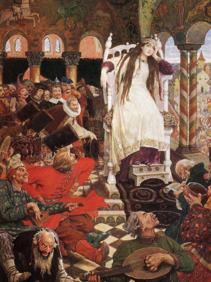 Viktor Vasnetsov - The Unsmiling Tsarevna (Nesmeyana) 2048x2732