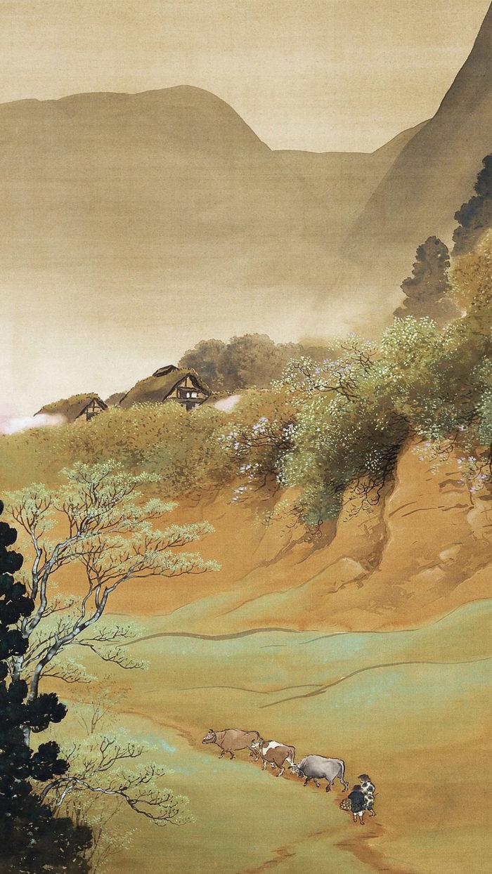 Kawai Gyokudo - Sansonshunshoku 1080x1920