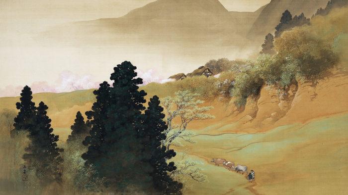 Kawai Gyokudo - Sansonshunshoku 1920x1080