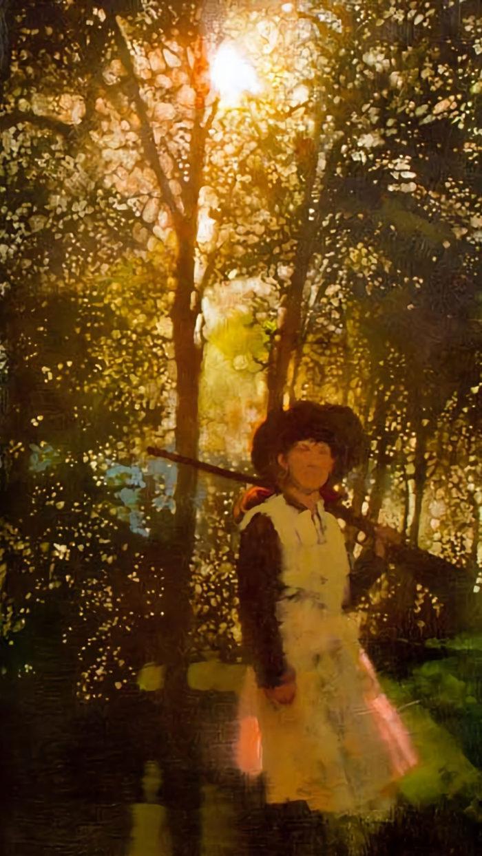 Bernie Fuchs - Annie in the woods 1080x1920