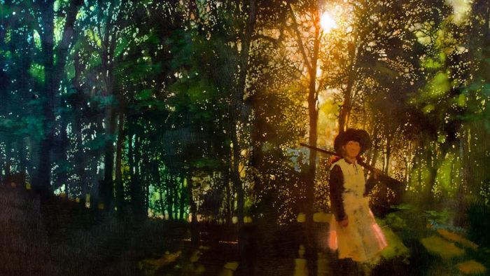 Bernie Fuchs - Annie in the woods 1920x1080