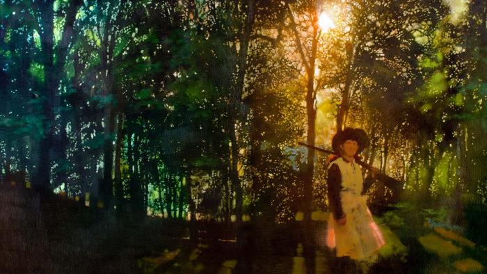 Bernie Fuchs - Annie in the woods 2560x1440