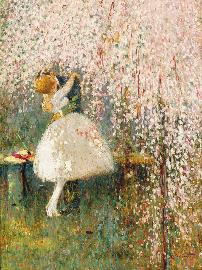 Georges Picard - Romance under the blossom tree 2048x2732