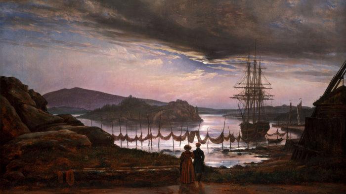 Johan Christian Dahl - View from Vaekero near Christiania 2560x1440