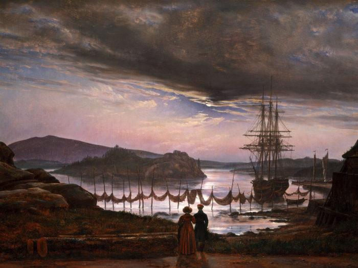 Johan Christian Dahl - View from Vaekero near Christiania 2732x2048
