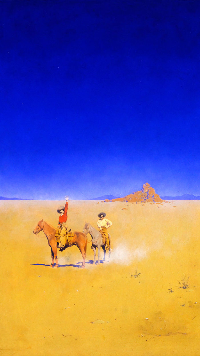 Maxfield Parrish - The Desert Without Water 1080x1920