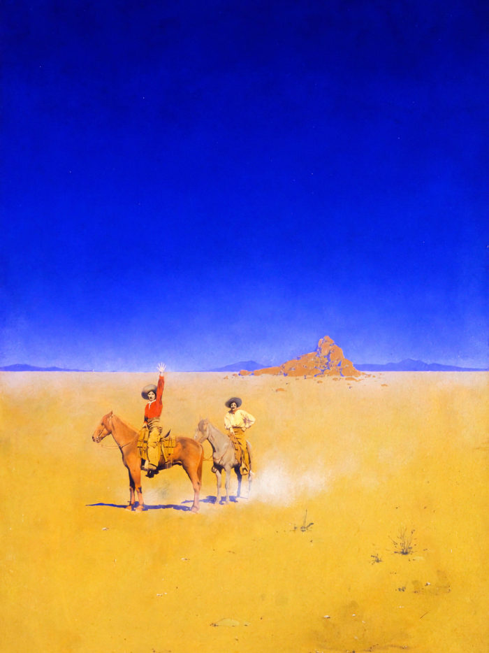 Maxfield Parrish - The Desert Without Water 2048x2732