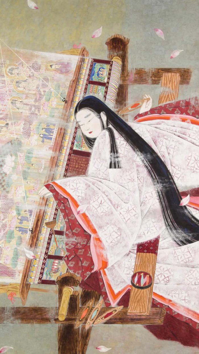 Orii Hiromitsu - Hasu mandara jodo taima chujo hime 1080x1920