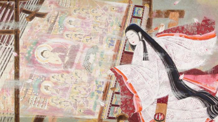 Orii Hiromitsu - Hasu mandara jodo taima chujo hime 2560x1440