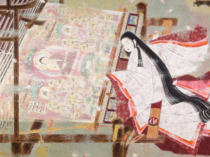 Orii Hiromitsu - Hasu mandara jodo taima chujo hime 2732x2048