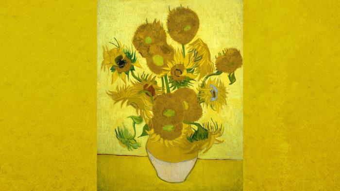 Vincent van Gogh - Sunflowers 1920x1080