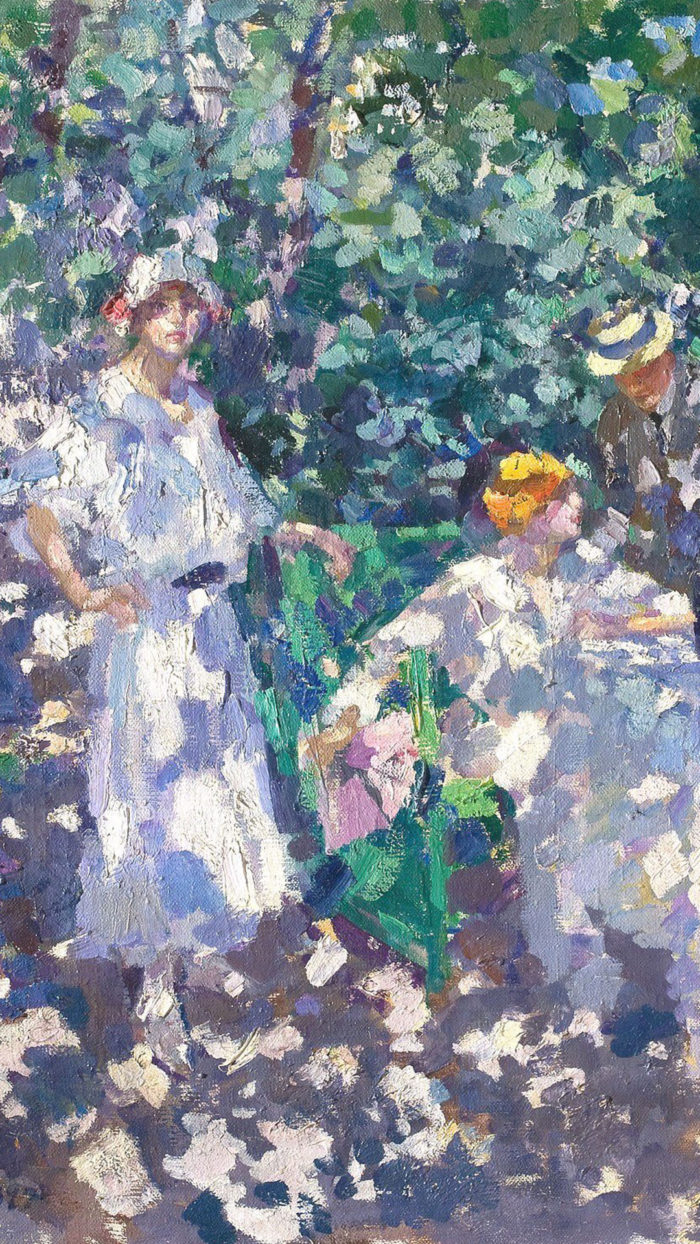 Konstantin Korovin - In the garden 1080x1920