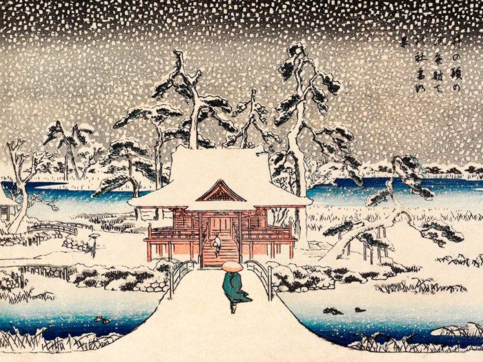 Utagawa Hiroshige - Meisho Setsugetsuka 2732x2048