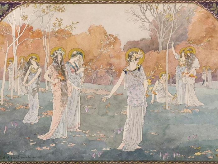 Elisabeth Sonrel - The Garden of Maidens 2732x2048