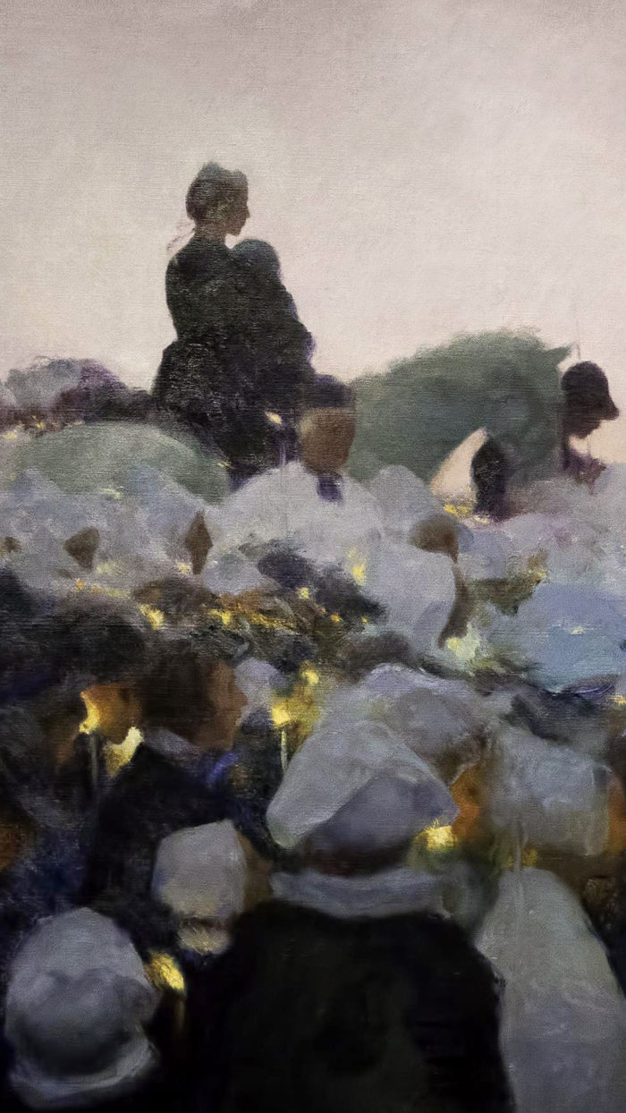 Gaston La Touche - Pardon in Brittany 1080x1920