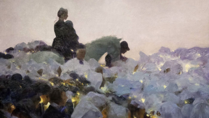 Gaston La Touche - Pardon in Brittany 1920x1080