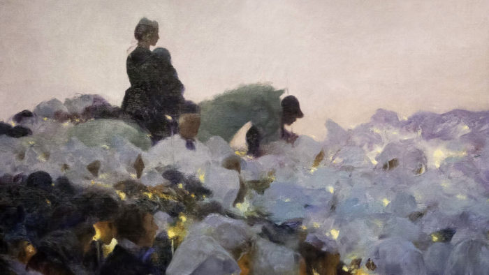 Gaston La Touche - Pardon in Brittany 2560x1440
