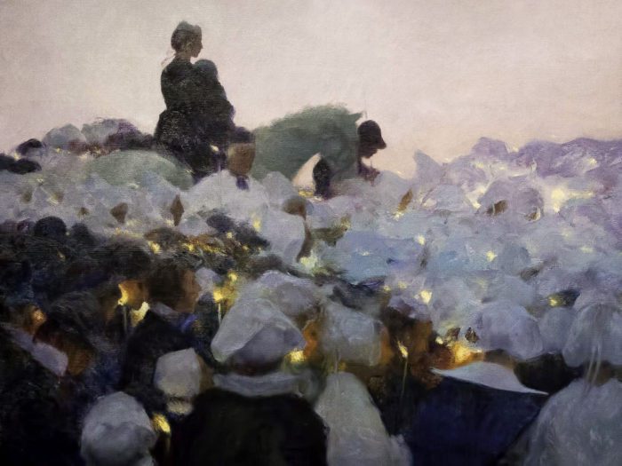 Gaston La Touche - Pardon in Brittany 2732x2048
