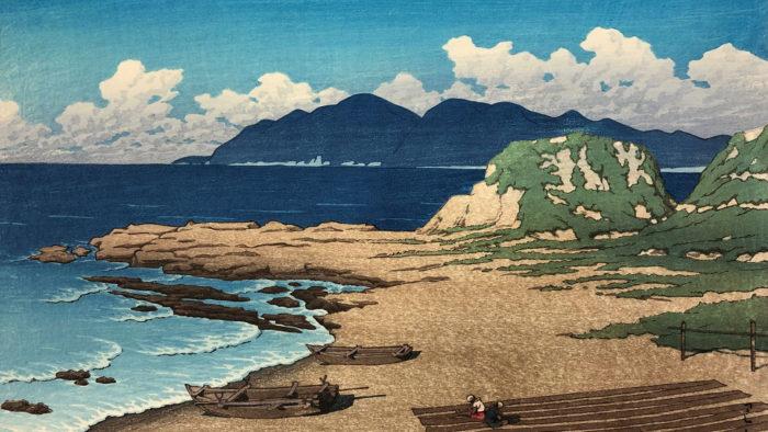 Kawase Hasui - Boshu mera 1920x1080