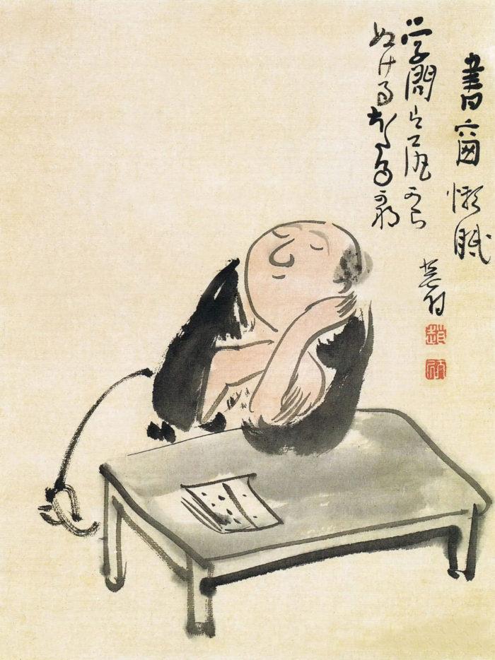 Yosa Buson - Gakumon ha shirikara 2048x2732