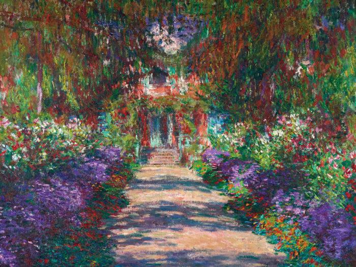 Claude Monet - Garten in Giverny, 1902 2732x2048