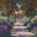 クロード・モネ / Eine Allee in Monets Garten n Giverny, 1902
