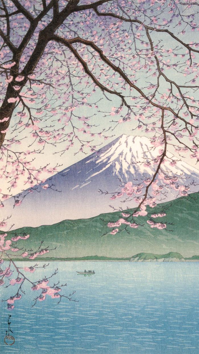 Kawase Hasui - Nishiizu kishou 1080x1920