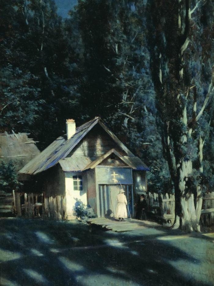 Konstantin Kryzhitsky - Moonlit Chapel 2048x2732