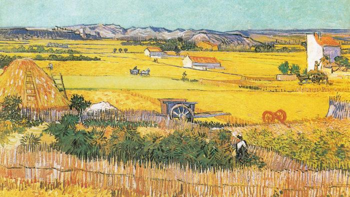 Vincent van Gogh - the harvest 1920x1080