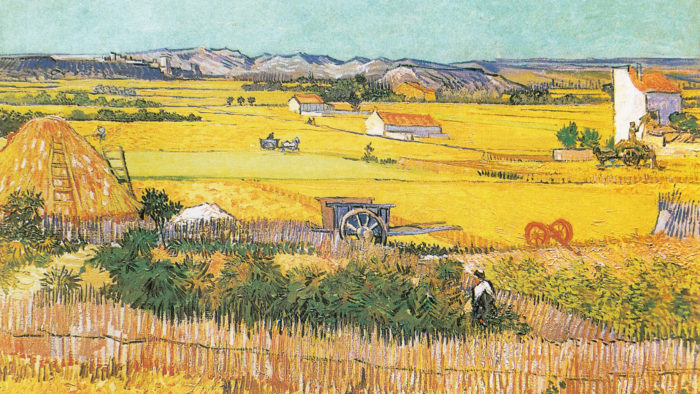 Vincent van Gogh - the harvest 2560x1440