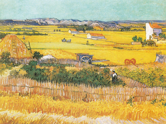 Vincent van Gogh - the harvest 2732x2048