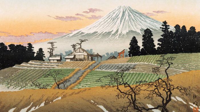 Takahashi Shotei - Kami ide 2560x1440